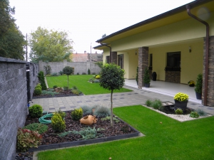 Parmelia - Záhrada 001 - Po roku