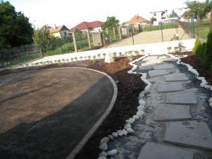 Parmelia - Záhrada 008 - Počas realizácie