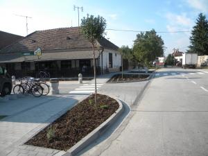 Parmelia - Obec Horné Saliby - Počas realizácie