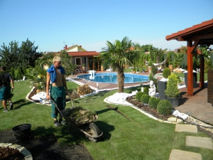 Realizácia záhrad
